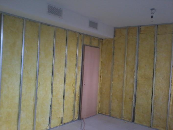 Insonorizaci n ac stica decoraciones llamas - Insonorizar una pared ...
